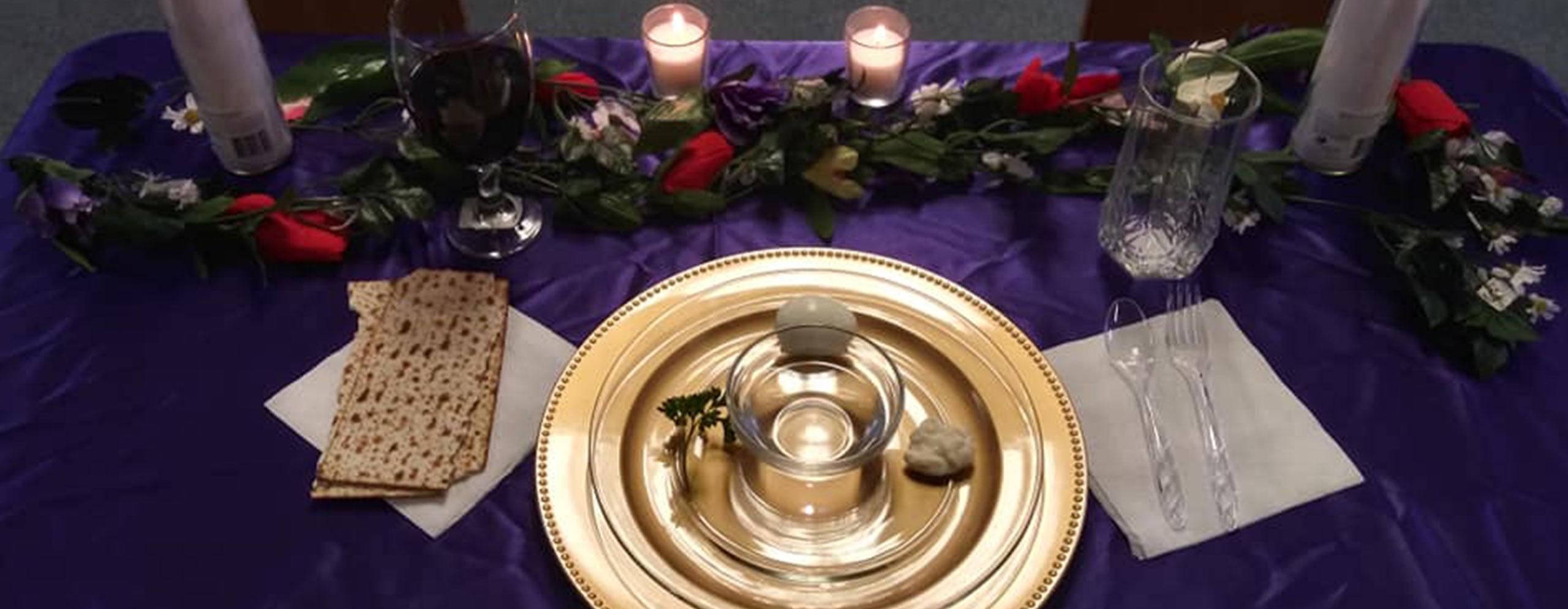 Maundy Thursday Seder Supper